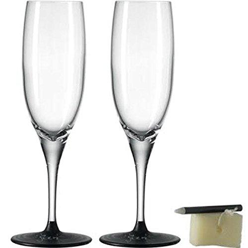 Leonardo Fratelli Sekt Glass Nota Prosecco Glass Set of 2 77564