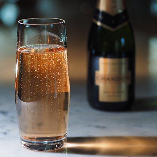 Prosecco Italiana Sparkling Wine Glass Gift Box Set of 4