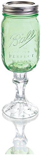 Carson Home Accents Original RedNek Wine Glass Vintage Green