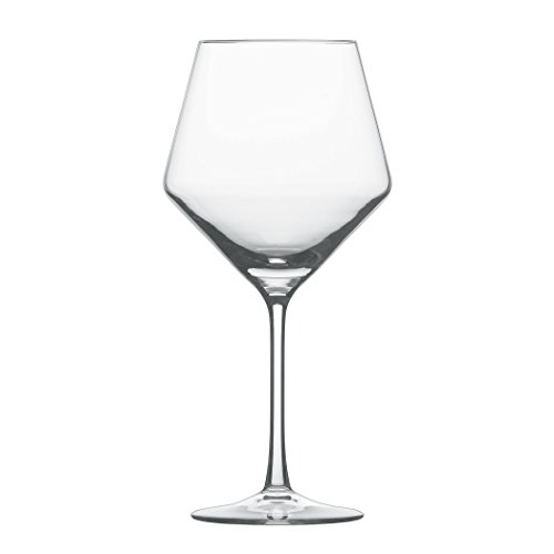 Schott Zwiesel Tritan Crystal Glass Pure Stemware Collection Burgundy Red Wine Glass 234-Ounce Set of 4