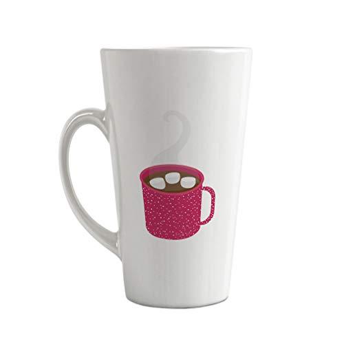 Ceramic Custom Latte Coffee Mug Cup Hot Chocolate Pink Tea Cup 17 Oz Design Only