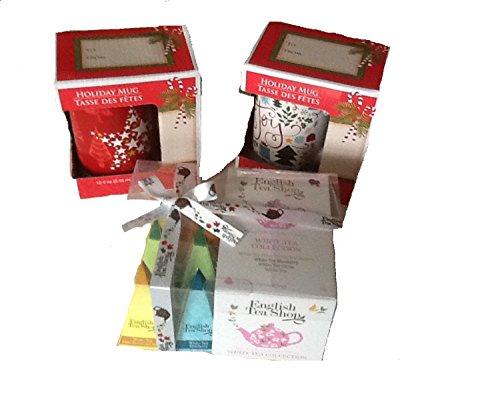 English Breakfast Tea Cups Bags Loose Bundle Package 3 Counts