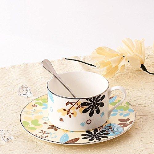 Bone china creative ceramic coffeetea cup set  Color  B