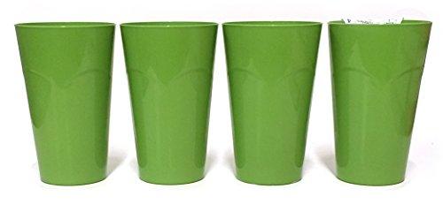 Green Tumblers 4-Pack
