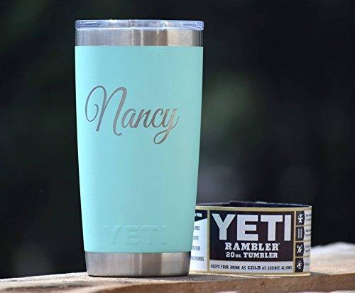 Personalized Tumbler - Engraved Yeti Rambler - 20 oz Yeti - 30 oz Yeti - Personalized Yeti - Yeti Gift - Laser Engraved Yeti - Yeti Tumbler - Yeti Cup - Yeti Monogram