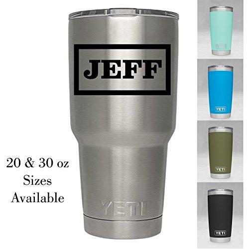 Personalized Yeti Tumbler - Engraved Yeti Rambler - 20 oz Yeti - 30 oz Yeti - Personalized Yeti - Yeti Gift - Laser Engraved Yeti - Yeti Tumbler - Yeti Cup - Yeti for Men