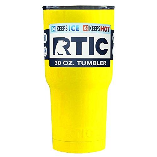 RTIC 30 oz Yellow Tumbler Cup