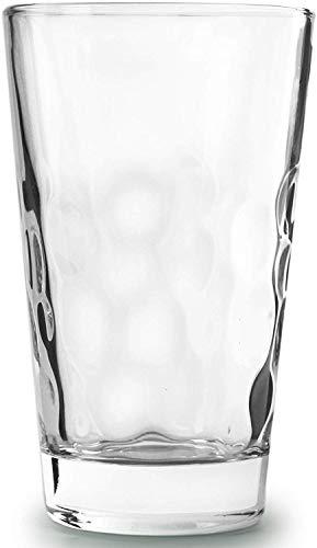 Circleware 45050 Coronado Heavy Base Highball Drinking Glasses Home Kitchen Tumbler Entertainment for Water Juice Milk Beer Whiskey Vodka Farmhouse Decor 138 oz Coronado - 8 pc