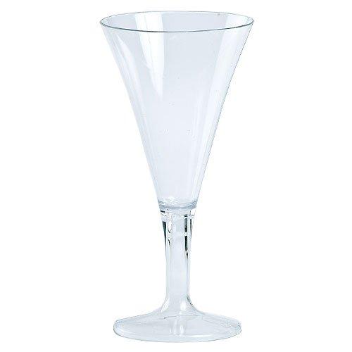 Clear Plastic Mini Martini Glass