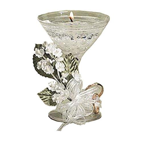 Darice Mini Martini Glass Wedding Decorative Candle Holder 6 Pack 4