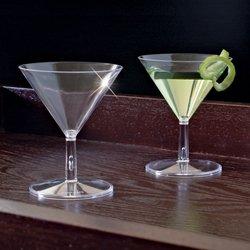 EMI-MM2 2 oz 2-Piece Mini Martini Glasses 120Case