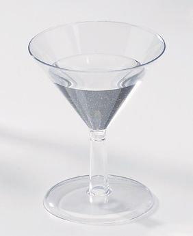 Petite 2oz Mini Martini Glasses 24 Per Pack