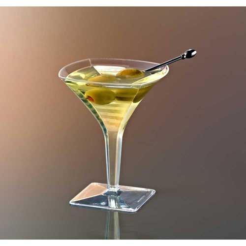 Squares Mini Martini Glass 2 Ounce -- 96 per case