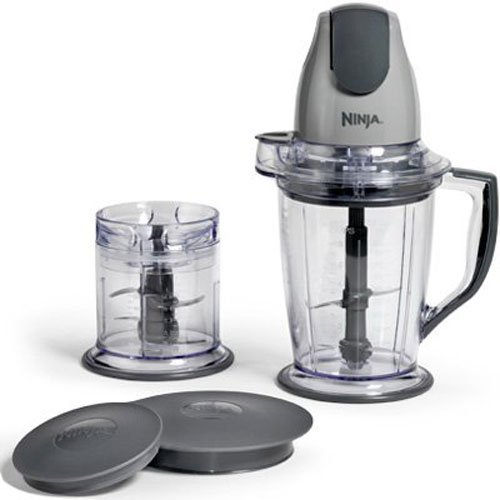 Ninja Master Prep Chopper Blender Food Processor QB900B Renewed