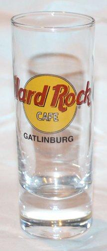 Hard Rock Cafe Gatlinburg Tennessee 2oz Promotional Shot Glass