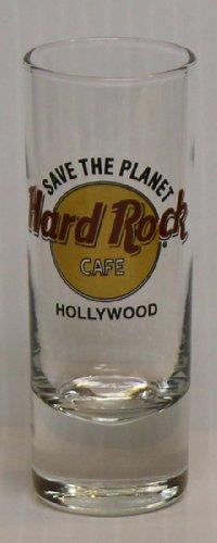 Hard Rock Cafe Hollywood 2oz Promotional Shot Glass