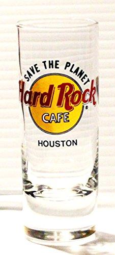 Hard Rock Cafe Houston Texas 2oz Promotional Shot Glass