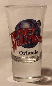Planet Hollywood Orlando Promotional Shot Glass