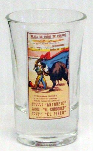 Plaza De Toros De Toledo 1oz Promotional Shot Glass