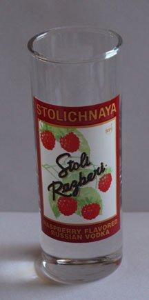 Stolichnaya Stoli Razberi Promotional Shot Glass