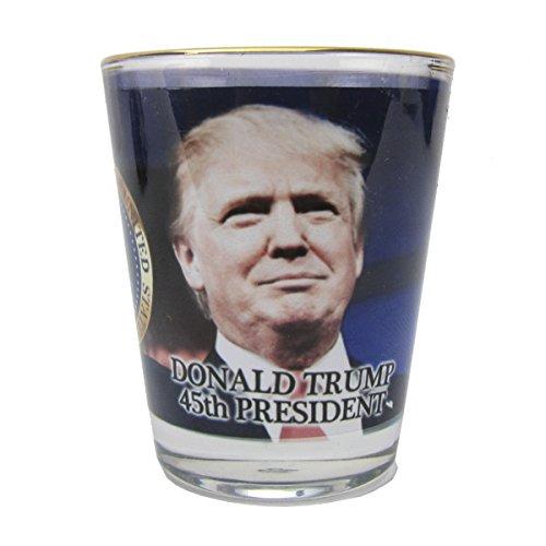 45th President Donald Trump Shot Glass Novelty Gift