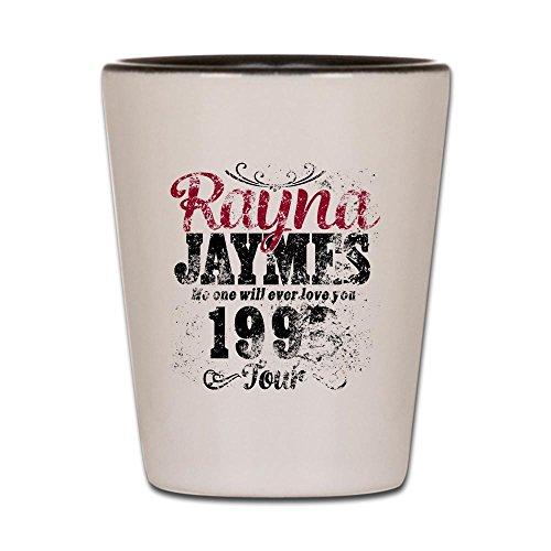 CafePress - Reyna James 90S Tour Vintage - Shot Glass Unique and Funny Shot Glass
