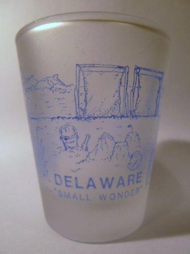 Delaware Vintage Shot Glass