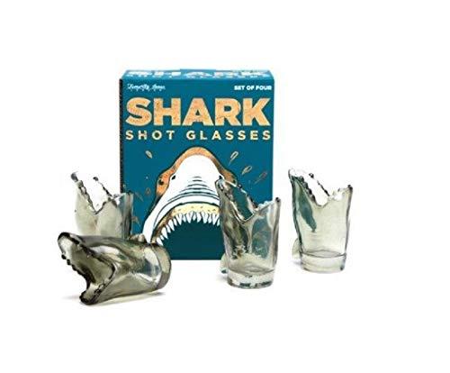 Shark Shot Glasses - Set Of 4