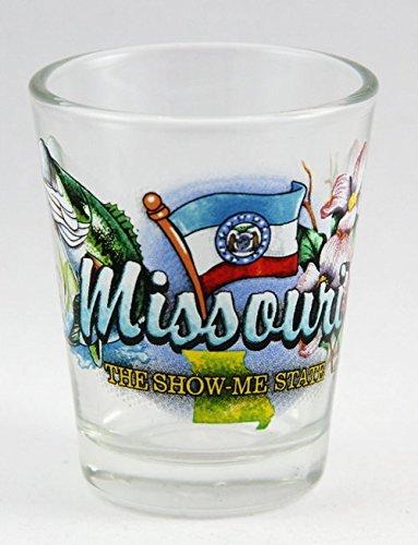 Missouri Show Me State Elements Shot Glass