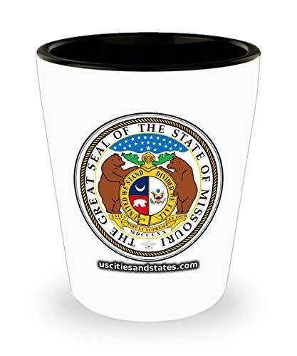 Missouri - State Seal Shot Glass