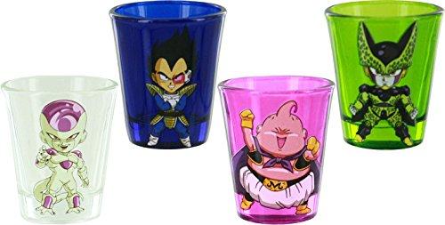 Dragon Ball Z 4 Villains Shot Glass Set