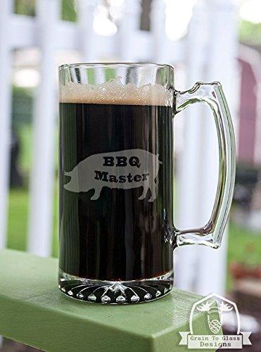 BBQ Master Pig Stein Beer Mug Gift