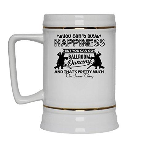 Ballroom Dancing Mug Coffee Ballroom Dancing White Beer Stein Mug Travel Mugs Ceramic Best Gifts White Beer Stein