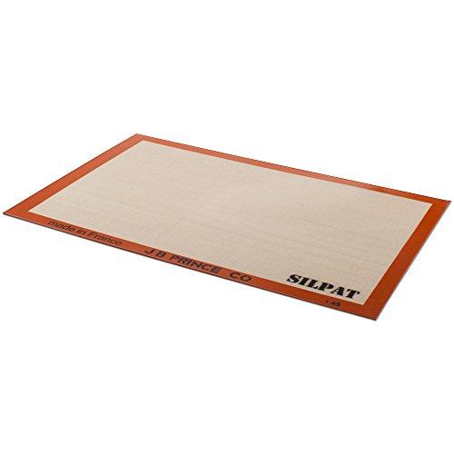JB Prince B705 Silpat Non-Stick Full-Size Bake Sheet