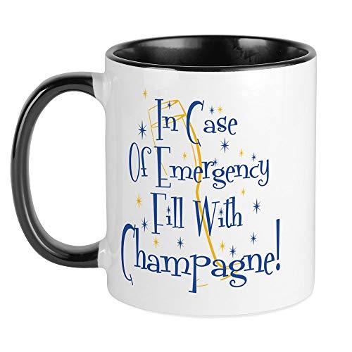 CafePress Champagne Mug Unique Coffee Mug Coffee Cup