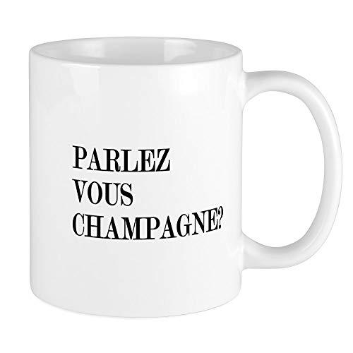 CafePress Parlez Vous Champagne Mug Unique Coffee Mug Coffee Cup