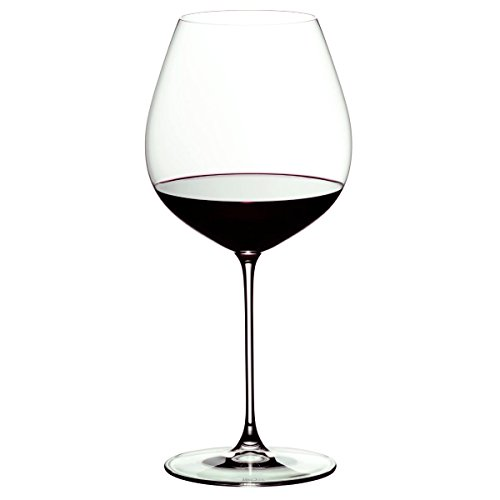 Riedel Veritas Leaded Crystal Old World Pinot Noir Wine Glass Set of 6