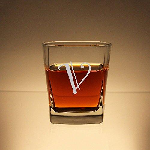 Custom Whiskey Glass Personalized Rocks Glass Etched Scotch Glass Engraved Bourbon Glass Groomsmen Glasses