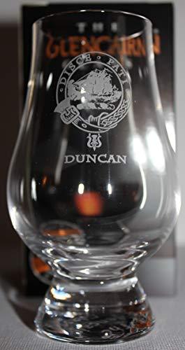 CLAN DUNCAN GLENCAIRN SINGLE MALT SCOTCH WHISKY TASTING GLASS