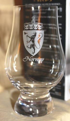 NORWAY GLENCAIRN SINGLE MALT SCOTCH WHISKY TASTING GLASS