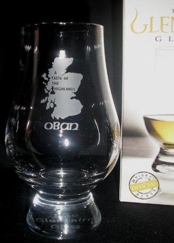 OBAN A TASTE OF THE HIGHLANDS GLENCAIRN SINGLE MALT SCOTCH WHISKY TASTING GLASS