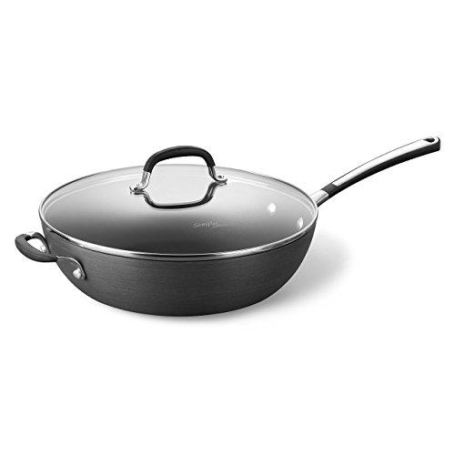 Simply Calphalon Nonstick 12 Jumbo Deep Fry Pan Renewed