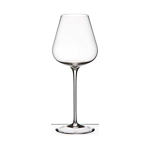 Rogaska Aurea Crystal White Wine Glasses Set of 2
