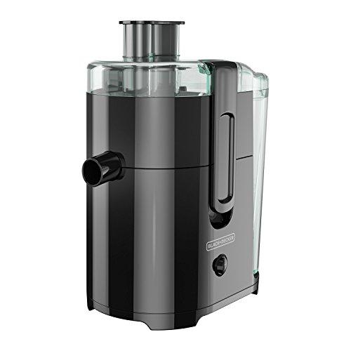 BLACKDECKER 400-Watt Fruit and Vegetable Juice Extractor Black JE2400BD