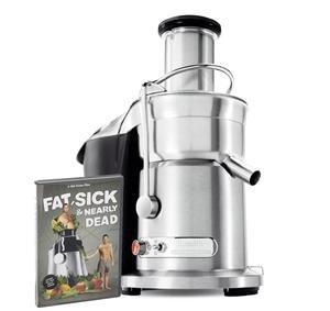 Breville 800JEXL Juice Fountain Elite Juicer w FREE Fat Sick Nearly Dead DVD