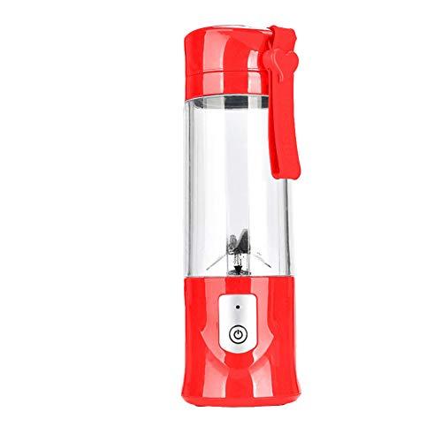 Personal Mini Blender yanQxIzbiu Mini Portable Automatic Electric Fruit Juicer Blender Squeezer Mixer Machine - Red