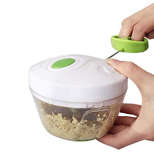 Fiesta Kitchen Pulling Food Chopper Household Hand Chopper Manual Rope Food Processor Slicer Shredder Salad Maker Vegetable Tools