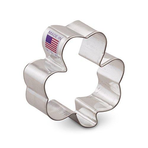 Ann Clark Shamrock Cookie Cutter - 25 Inches - Tin Plated Steel