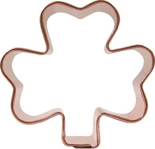 CopperGifts Mini Shamrock Cookie Cutter