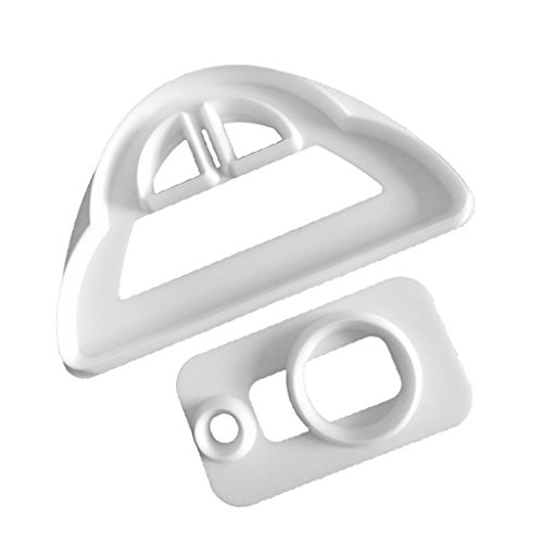 Fenteer 2 Piece Plastic Farm Tractor Cookie Cutter Mold Cake Decorating Topper 875cm